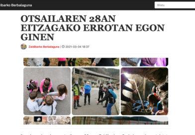 Zaldibarko Berbalagunen bloga